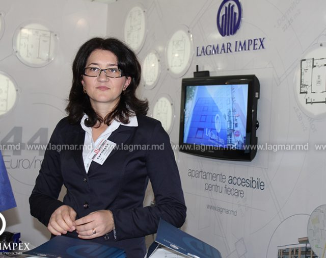 Lagmar at the real estate exhibition
