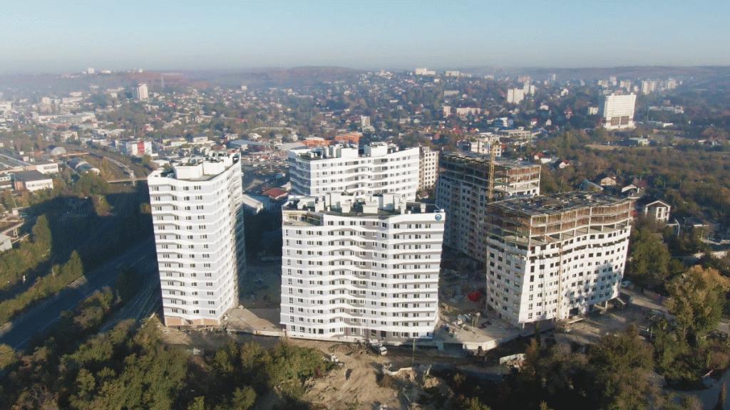 Apartamente cu 1, 2 camere, Complex locativ Circului