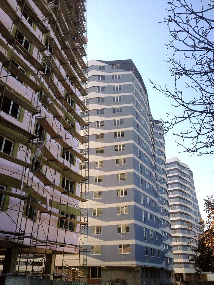 Fațada bloc A, Apartamente noi, Complex locativ Circului