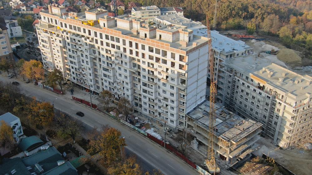 La o noua inaltime! Complexul rezidential Deleanu, 28 octombrie 2019