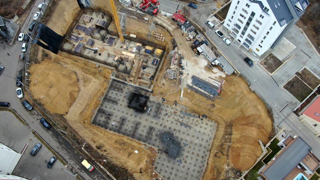 """Suntem la o etapă mai avansată la șantierul de construcții a proiectului """"Testemițanu"""", 04.02.2020"""