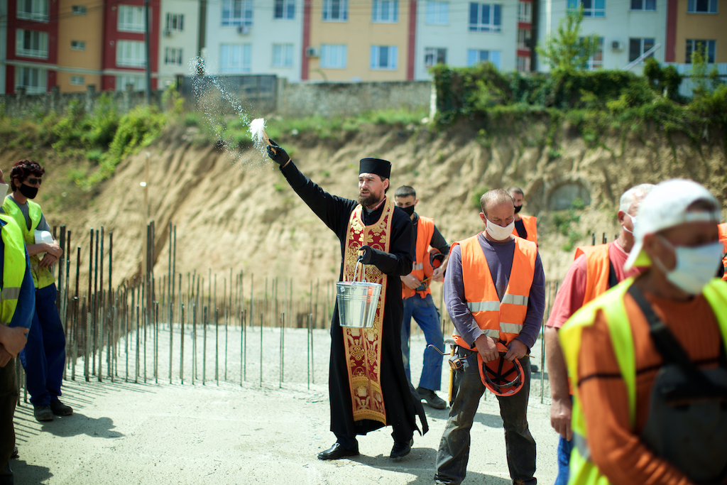 """Binecuvântarea lucrărilor și sfințirea construcției """"Testemitanu"""", 19 mai 2020"""