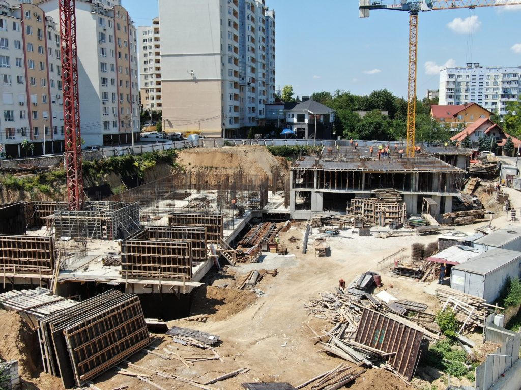 Progresul lucrarilor la santierul TESTEMITANU, 28 iulie 2020